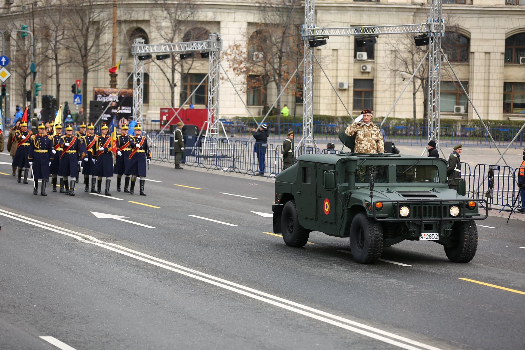 Repetitii parada militara 1 decembrie. Foto - MApN 22