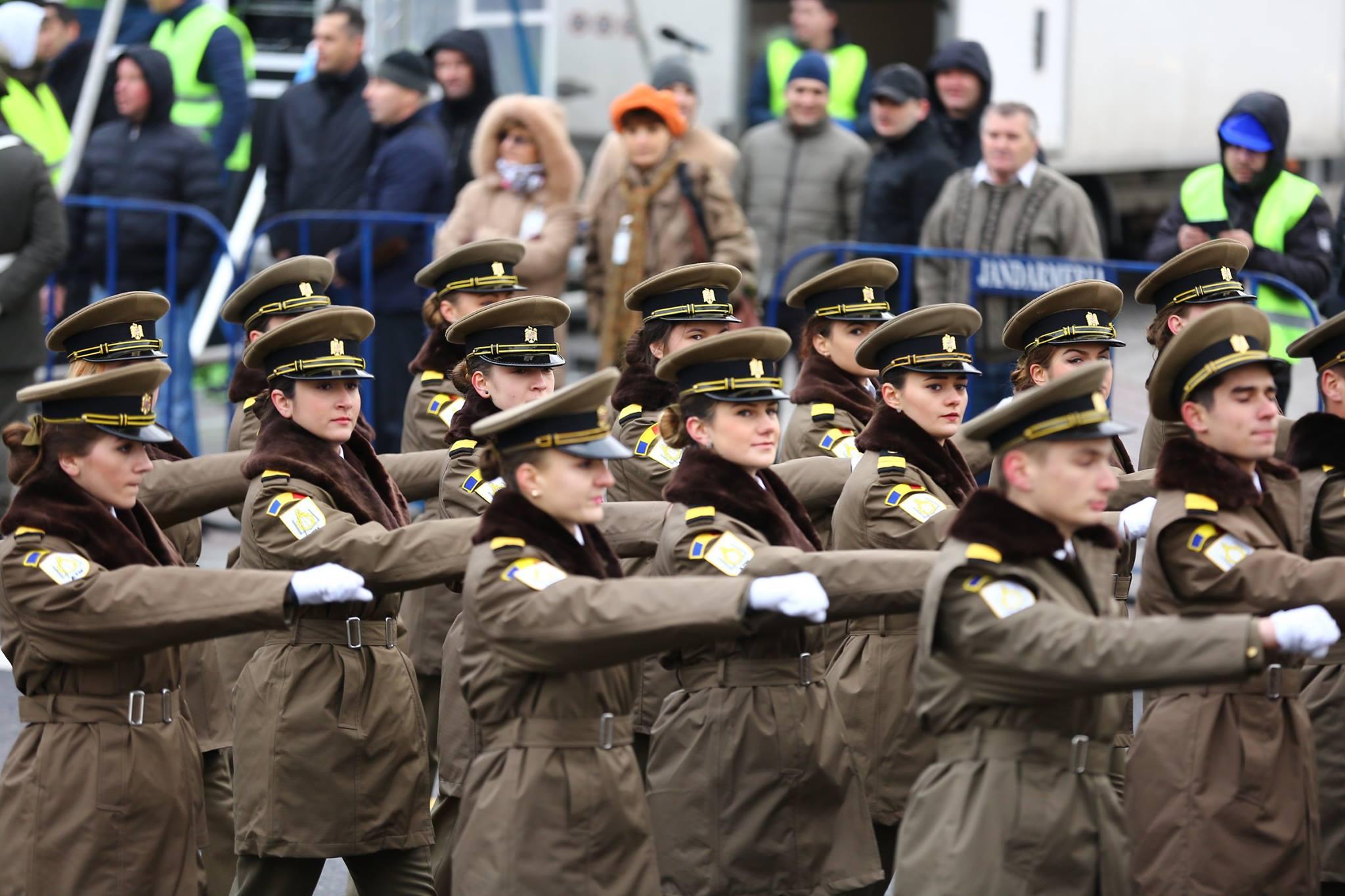 Repetitii parada militara 1 decembrie. Foto - MApN 23