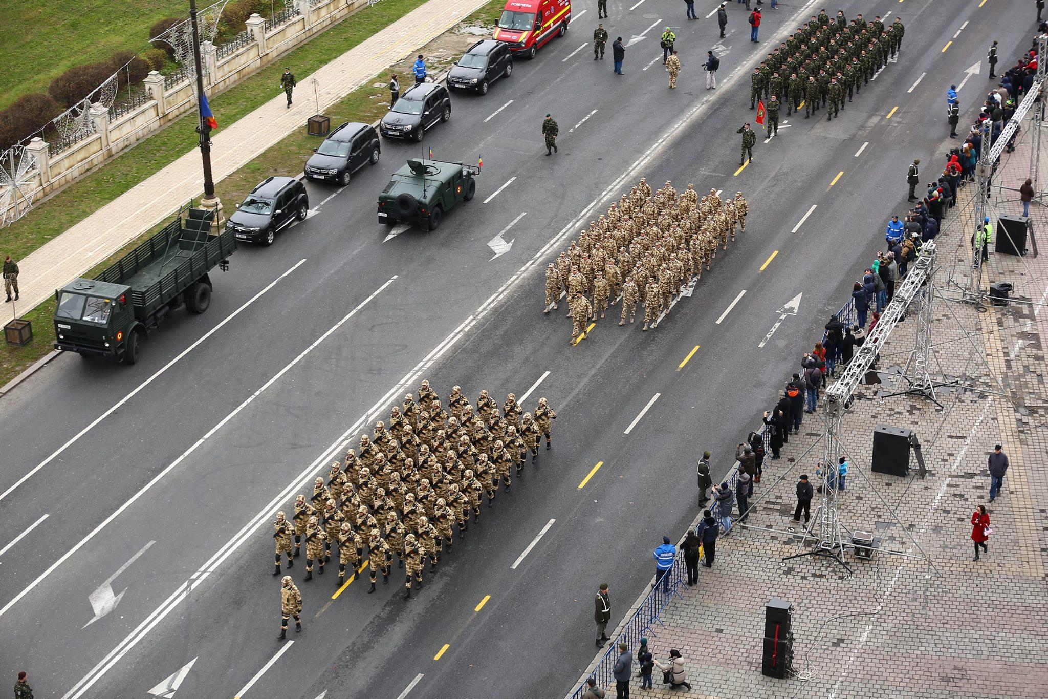 Repetitii parada militara 1 decembrie. Foto - MApN 29