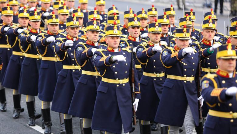 Repetitii parada militara 1 decembrie. Foto - MApN 28