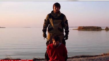 spion rus decapitat - captura cnn