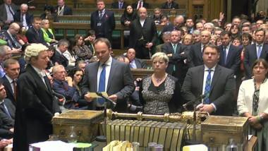 vot parlament britanic