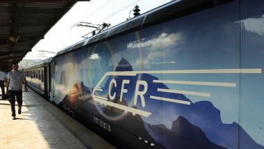 Tren CFR Gara de Nord agerpres 7833394
