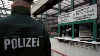 politie control frontiera germania GettyImages-78450452