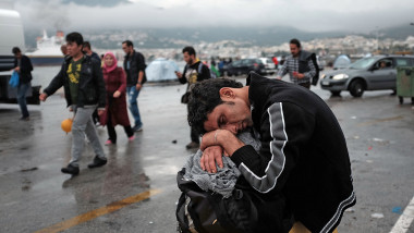 Conditii refugiati insula Lesbos Gulliver GettyImages octombrie 2015 7