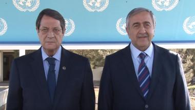 presedinte cipru nicos mustafiade si mustafa akinci captura youtube