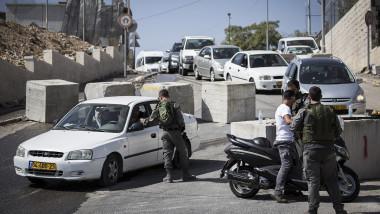cisiordania israel punct de control GettyImages-492798704