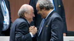 blatter platini - GettyImages - 8 oct 15