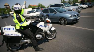 politist pe motor bucuresti politia romana