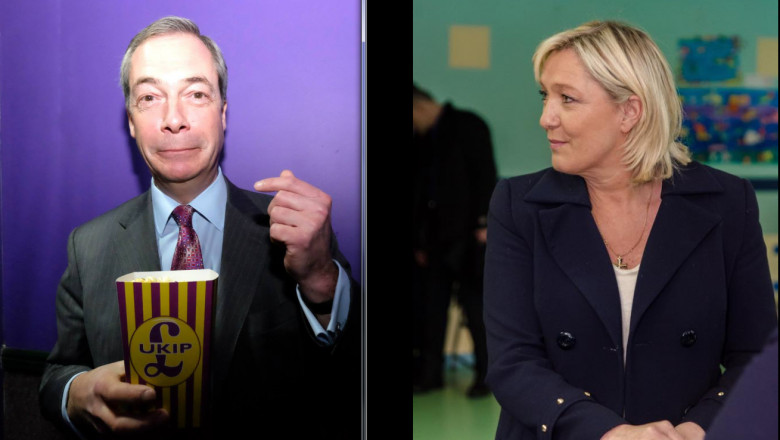 farage si le pen - fb