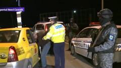 politie aeroport taximetrist