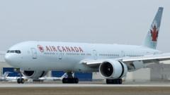 Air Canada boaing