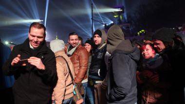 oameni revelion berlin - GettyImages-503034988