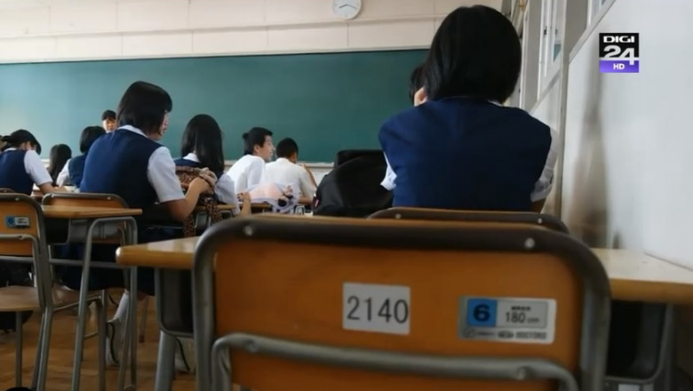elevi coreea de sud
