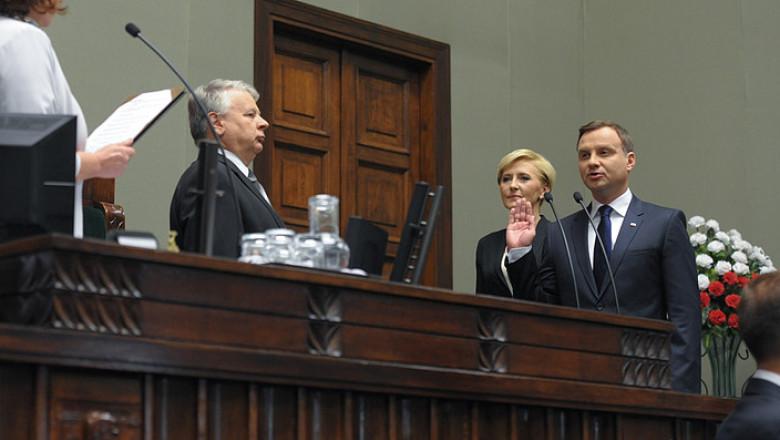 presedintele poloniei juramanat president pl