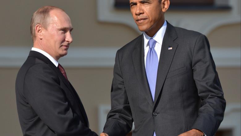 Vladimir Putin si Barack Obama GettyImages