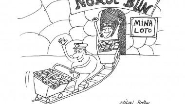 caricatura cu loto mihai boboc via FB loto