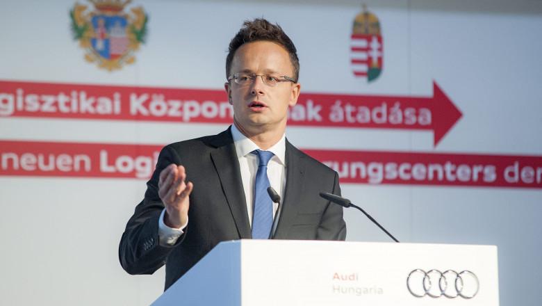 Peter Szijjarto -agerpres-18.9.2015