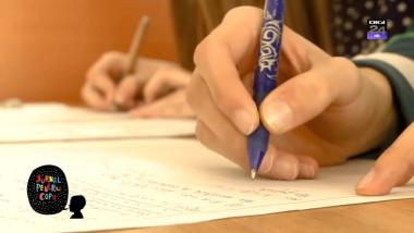 elevi maini lucrare jurnal pentru copii