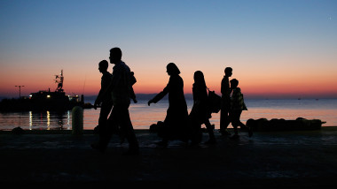 MIGRANTI IN FRONTIERA GettyImages