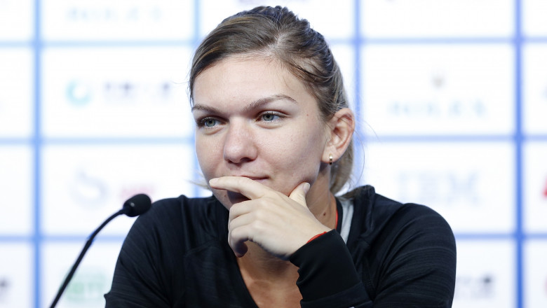 simona halep - GettyImages - 19 oct 15 1