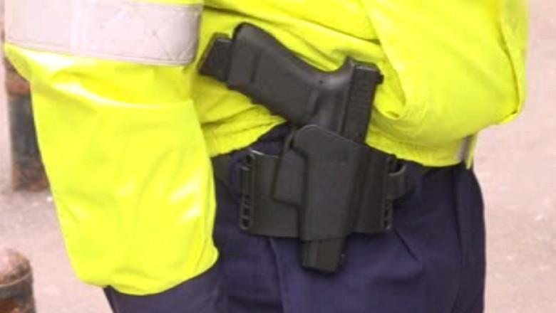 pistol politist glock