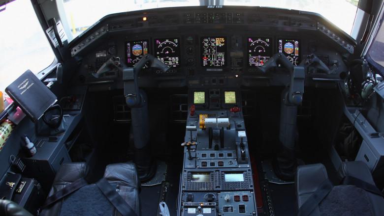 cabina avion getty