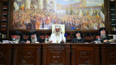 patriarh daniel sedinta sinod 1