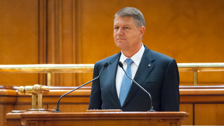 iohannis parlament - presidency