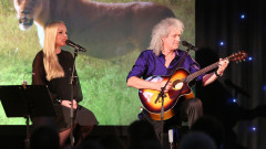 Brian May Kerry Ellis live 2  credit JamieCooper