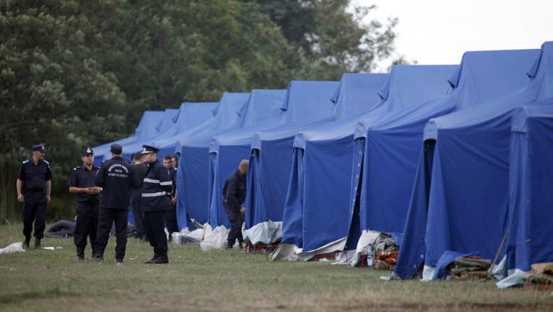 Tabere refugiati Timis Inquam Photos septembrie 2015 4