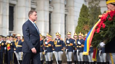 iohannis militari - presidency