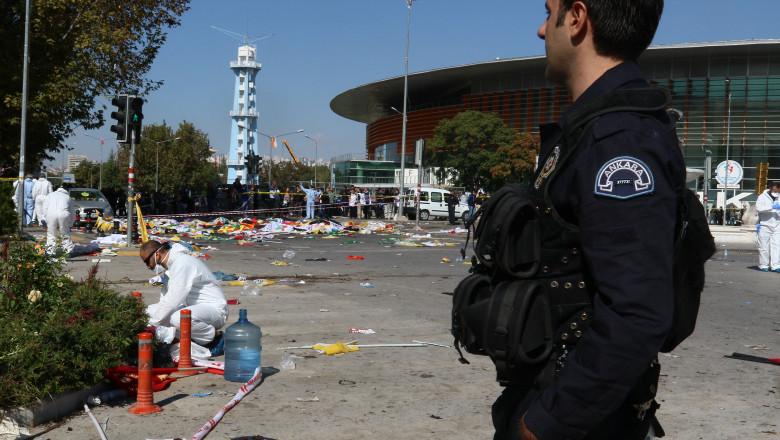 turcia ankara atentat - GettyImages - 12 oct 15
