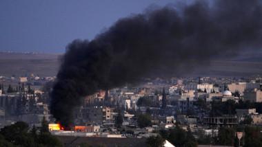 siria explozie kobani 2014 GettyImages-457549034