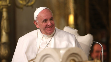 papa francisc GettyImages-505390274