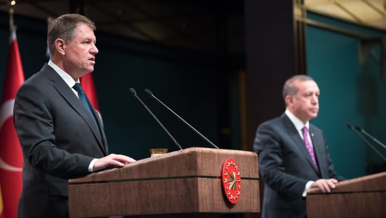 iohannis conferinta cu erdogan - presidency