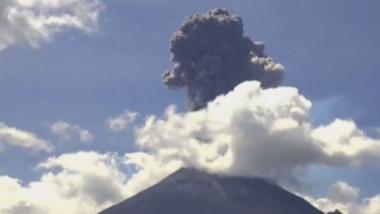 eruptie vulcan mexic