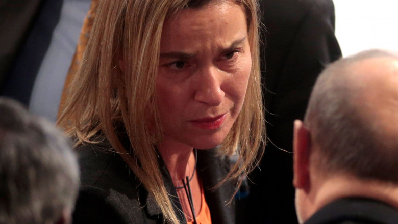 federica mogherini trista - GettyImages-462905518