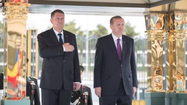 klaus iohannis erdogan turcia - presidency