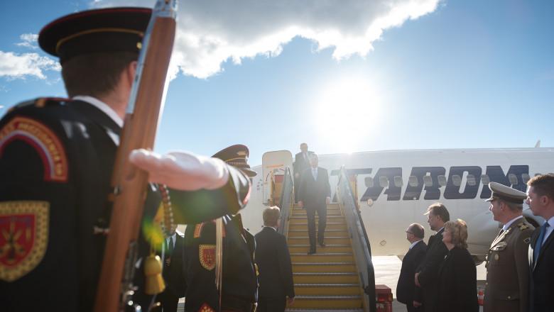 Klaus Iohannis ajunge in vizita in Slovacia presidency 18 noiembrie 2015