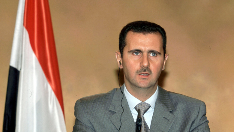 Bashar al Assad siria presedinte - GettyImages - 8 septembrie 15