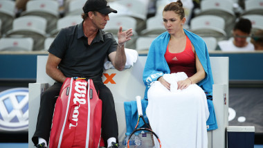 darren cahill simona halep GettyImages-504654308