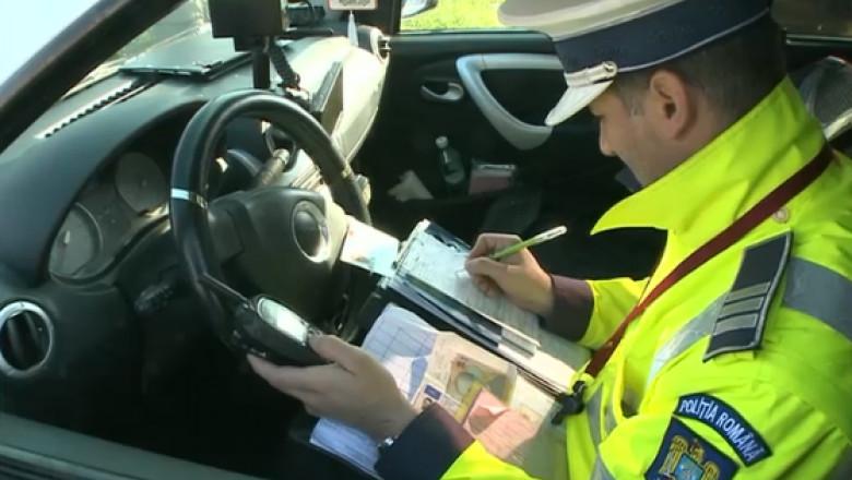 politist rutiera amenda circulatie radar