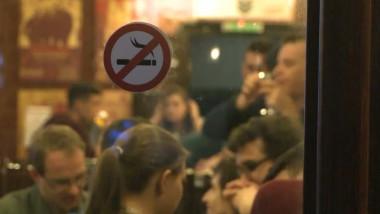semn fumat bar