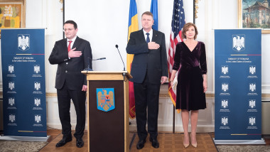 iohannis camen iohannis george maior ambasada sua - presidency