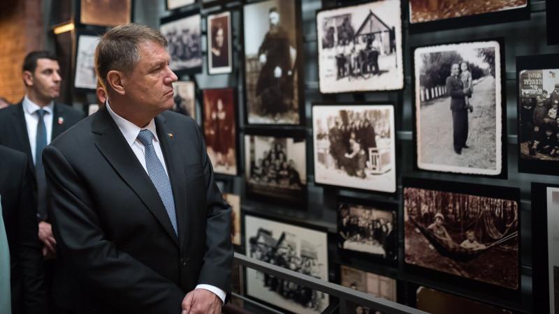 iohannis muzeul holocaustului sua - presidency