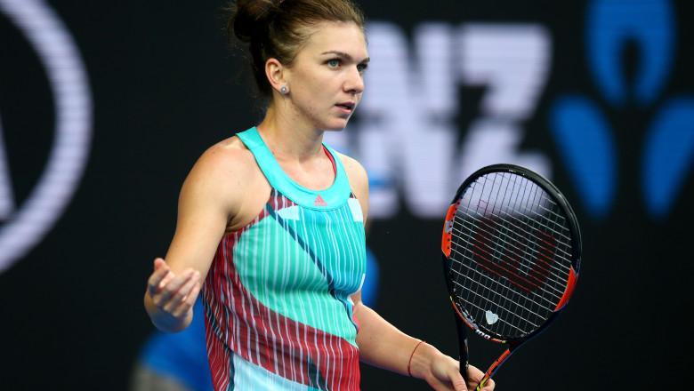 Simona Halep Australian Open 2016 GettyImages-505610338