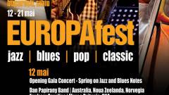 Afis EUROPAfest 12 mai Opening