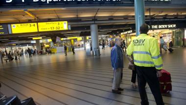 aeroportul schiphol afp