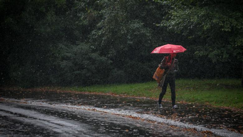 toamna ploaie getty